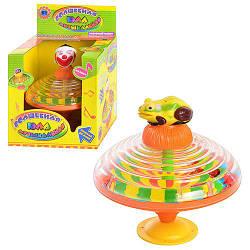 Волшебная Юла 8006 АВ музыкальная красочная детская игрушка