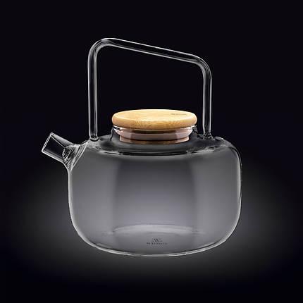 Заварочный чайник с фильтром Wilmax Thermo 1200 мл WL-888822 / A, фото 2