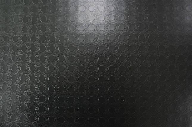 """Автолин черный, """"рыфленая копейка"""" напольное покрытие, фото 2"""