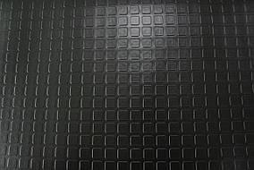 """Автолин черный, """"квадрат"""" напольное покрытие"""