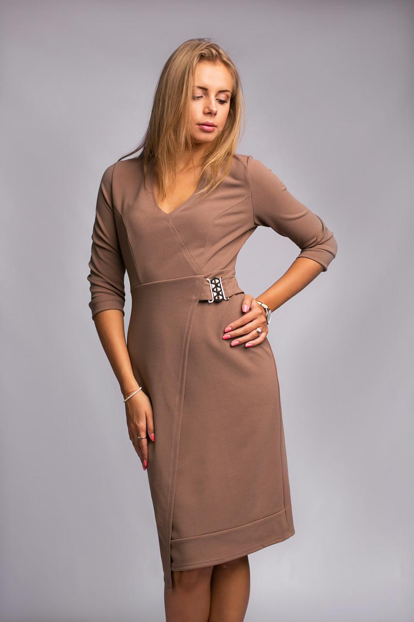 Женское платье трикотажное оригинальное