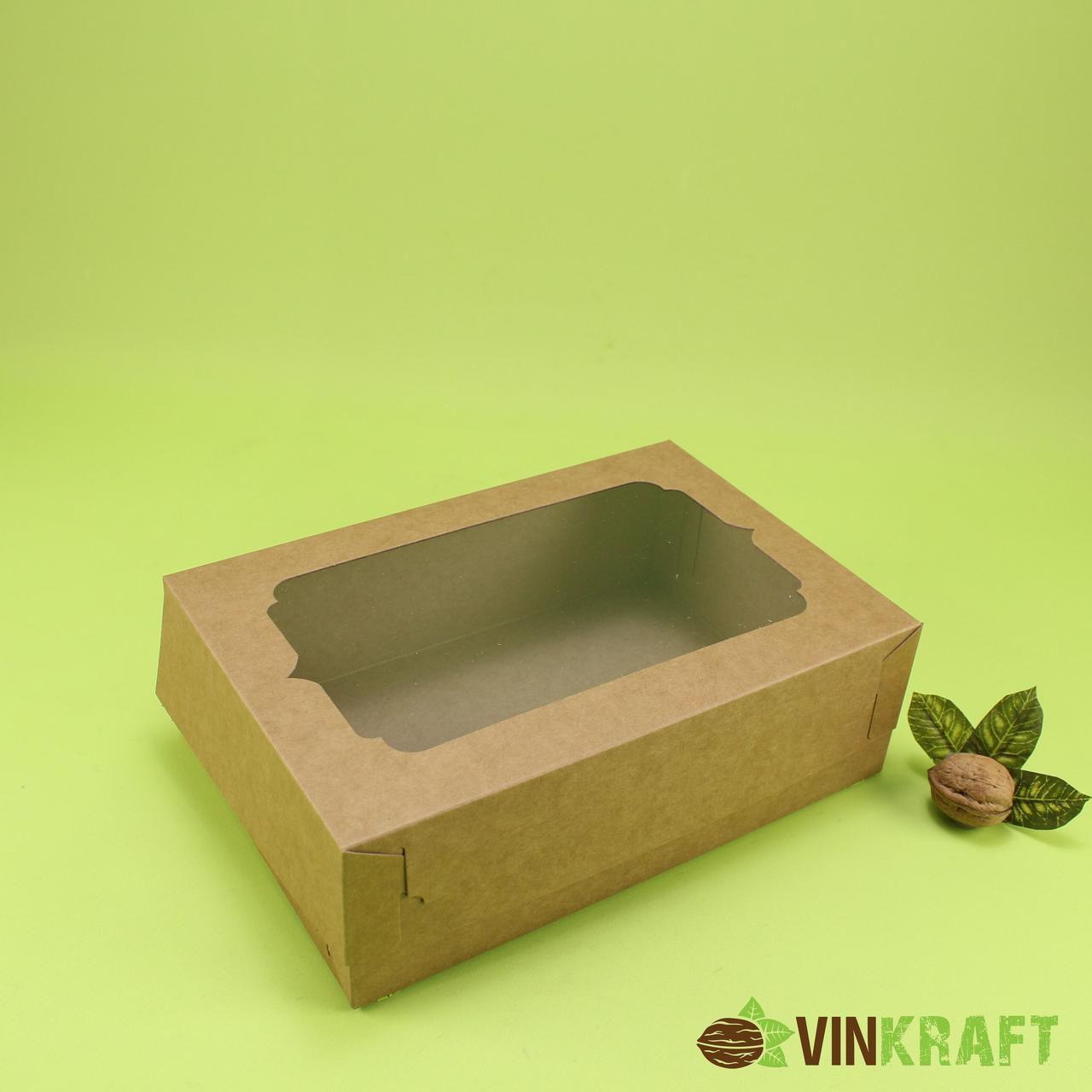 Подарункова коробка 250*170*80, крафт