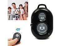 Bluetooth пульт для селфи, блютуз пульт для монопода / смартфона черный