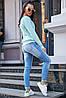 Женский вязаный джемпер по фигуре (3815-3806 svt), фото 3