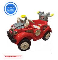 Детская электрическая машина на аккумуляторе, красного цвета, 53*90 см. к/в 1/1 шт