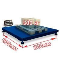 Ваги платформні 600*800