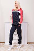 Зимний женский костюм трикотаж с начесом норма оптом в Одессе (7км).