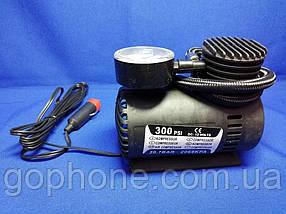 Портативний автомобільний компресор електричний насос для шин 12V