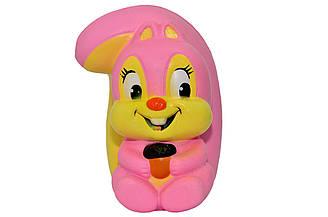 Сквиш игрушка Белка AA865 мягкая антистресс игрушка