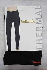 ОПТОМ Кальсоны черные утепленные для мальчика 3-4 лет (98-104 / 3-4 года)  Katamino 8680652285691