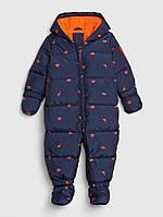 Детский зимний комбинезон пуховик ColdControl Ultra Max Down для мальчика