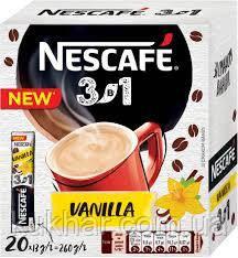 """Напій """"Nescafe"""" 3в1 Ваніль 13г (уп.20шт)"""