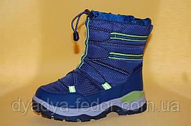 Детская зимняя обувь Термообувь Том.М Китай 5705 Для мальчиков Синий размеры 27_32