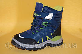 Детская зимняя обувь Термообувь Том.М Китай 5708 Для мальчиков Синий размер 27