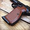 Набор пистолет пневматический SAS P 210 Blowback + баллоны + шарики BB (металл), фото 3