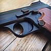 Набор пистолет пневматический SAS P 210 Blowback + баллоны + шарики BB (металл), фото 4