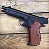 Набор пистолет пневматический SAS P 210 Blowback + баллоны + шарики BB (металл), фото 7