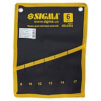 Чехол для гаечных ключей 6 шт Sigma 6011031