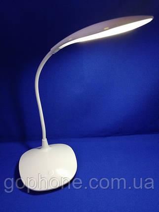 LED лампа настольная WS-L601 800mAh 1.5W White, фото 2