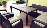 Набор садовой мебели Corfu Relax Duo Max из искусственного ротанга ( Allibert by Keter ), фото 6