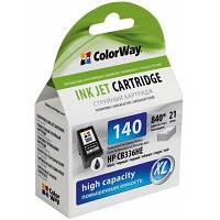 Картридж ColorWay HP №140XL Black (CB336HE) 21мл (CW-H140XL)