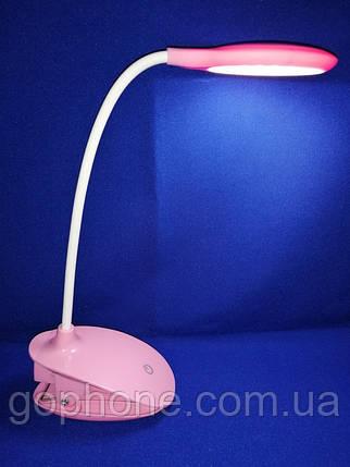 LED лампа настольная PC-6531 500mAh 4W Rose, фото 2