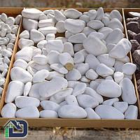 Галька декоративна Thassos White 5÷10, 10÷30, 30÷60, 80÷120, фото 1
