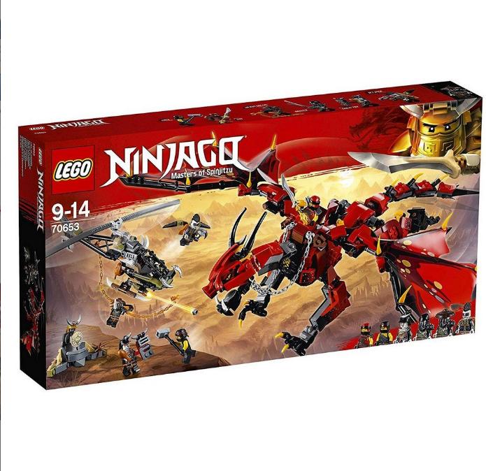 Конструктор LEGO Ninjago «Палій» 70653