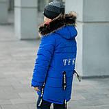 """Зимняя курточка для мальчика на флисовой подкладке """"Суприм"""", фото 3"""