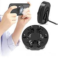 ☚Охлаждающий радиатор для смартфона Lesko Mobile Phone Z10 от перегрева подставка-держатель с липучками