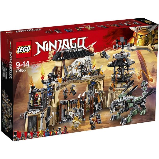 Конструктор LEGO Ninjago «Драконяче провалля» 70655