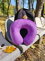 Надувные дорожные подушки под шею LSM Подушка в дорогу в Украине