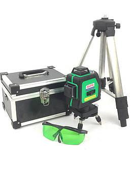 Лазерный уровень, нивелир AL-FA ALNL-3DG 12 + Тренога в комплекте