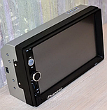 СУПЕР автомагнитола Pioneer 7010, 2DIN,BT,SD,USB,AUX,Fm КОРЕЯ ГАРАНТИЯ, фото 3