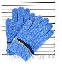 Детские шерстяные перчатки унисекс - длина 14 см, фото 2