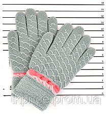 Детские шерстяные перчатки унисекс - длина 14 см, фото 3