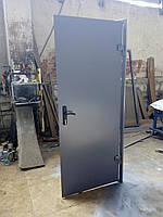 Двери технические без утепления (стальные) S:2060*860 (D: лицевая 1,5мм)