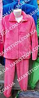 Пижама женская теплая, махровая с длинным рукавом р. 44,46