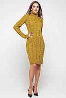 Вязаное тёплое платье Лало, фото 1