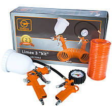 Набір пневмоінструмента Limex 3