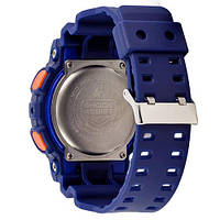 Наручные часы Casio G-Shock AAA GA-110 Blue-Yellow, фото 2