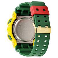 Наручные часы Casio G-Shock AAA GA-110 Yellow-Green, фото 2