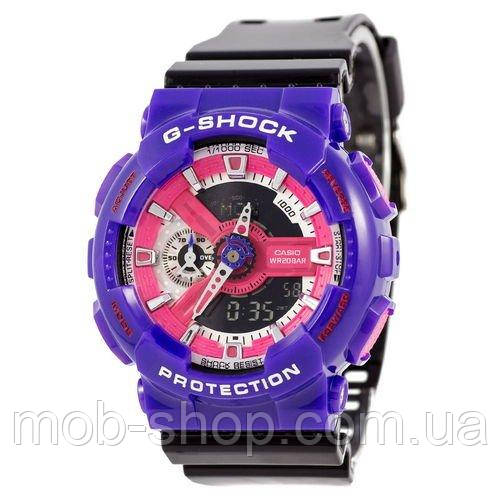 Наручные часы Casio G-Shock AAA GA-110 Violet-Black