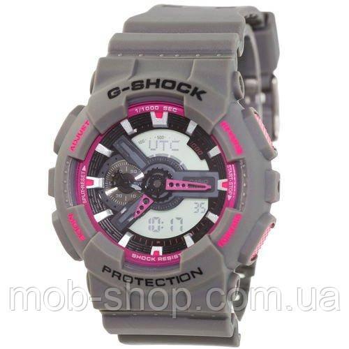Наручные часы Casio G-Shock AAA GA-110 Gray-Pink Autolight