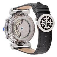 Наручные часы Patek Philippe Grand Complications Power Tourbillon Black-Silver-Black, фото 2