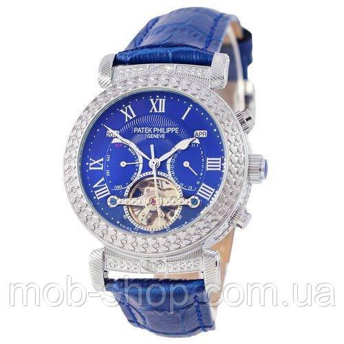 Наручные часы Patek Philippe Grand Complications Power Tourbillon Blue-Silver-Blue