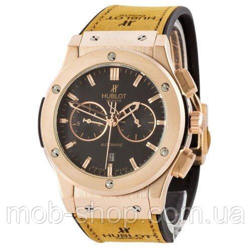 Наручные часы Hublot Classic Fusion Automatic Brown-Gold-Mate-Black