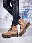 Женские демисезонные ботинки коричневого цвета из натуральной замши 39 ПОСЛЕДНИЕ РАЗМЕРЫ, фото 3