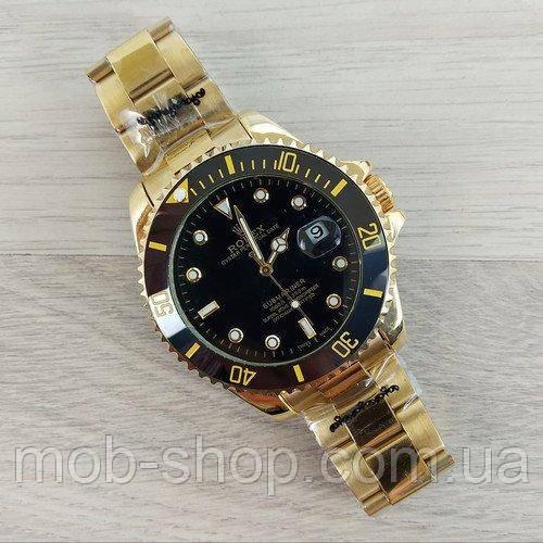 Наручные часы Rolex Submariner  Automatic AA Gold-Black