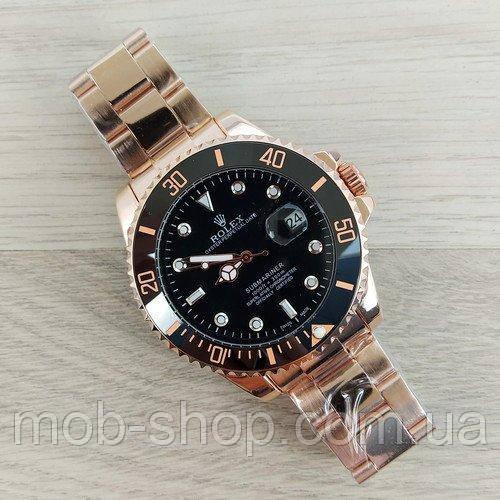 Наручные часы Rolex Submariner Automatic AA  Cuprum-Black